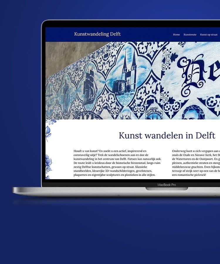 Kunstwandeling Delft