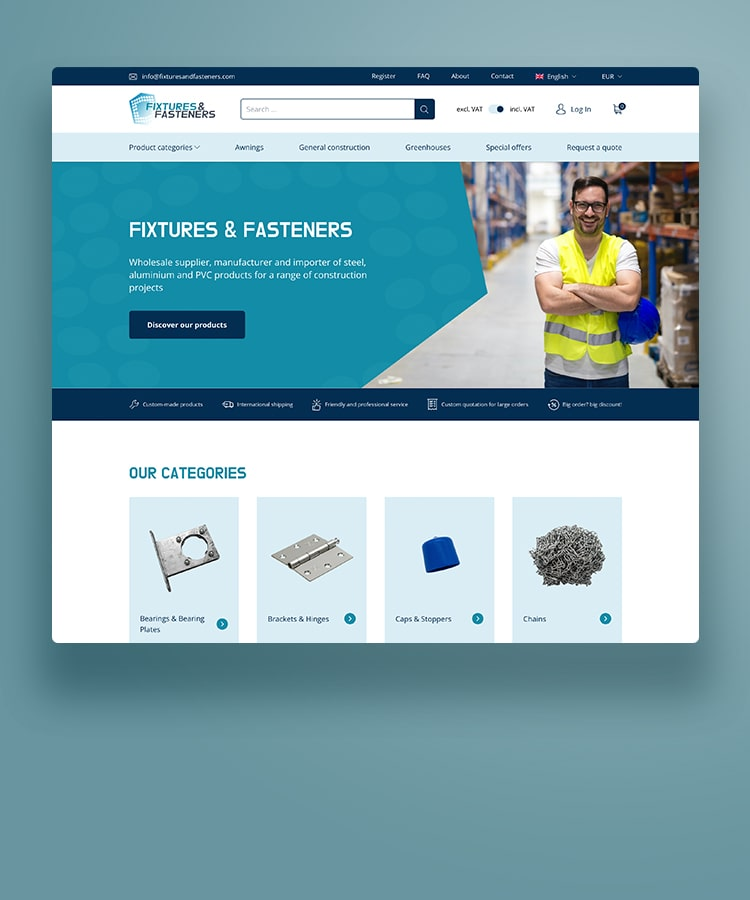 Fixtures and Fasteners